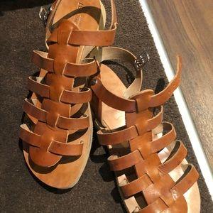 Authentic Greek Leather Gladiator Sandals
